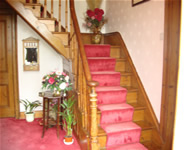 High Farm, Cropton - bed & breakfast Pickering, North Yorkshire - Main Staircase