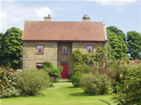 High Farm, Cropton - bed & breakfast Pickering, North Yorkshire - Front Elevation